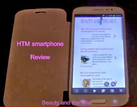 Beauty and the Mist - everything about beauty: HTM H9001 smartphone review VIDEO