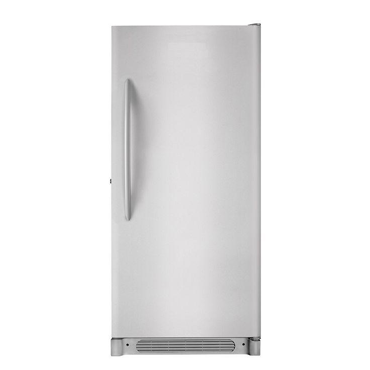 Frigidaire 202cu ft frostfree upright freezer silver