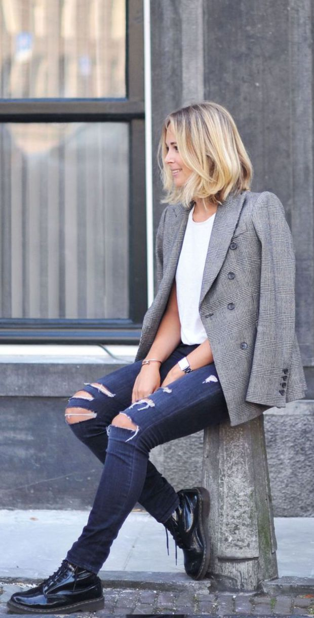 Be inspired: grijze blazers & jassen