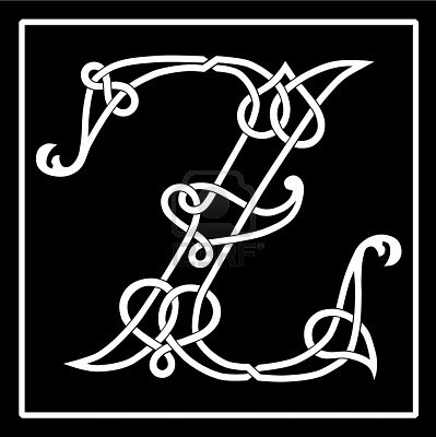 166 best celtic alphabet images on Pinterest | Celtic alphabet ...