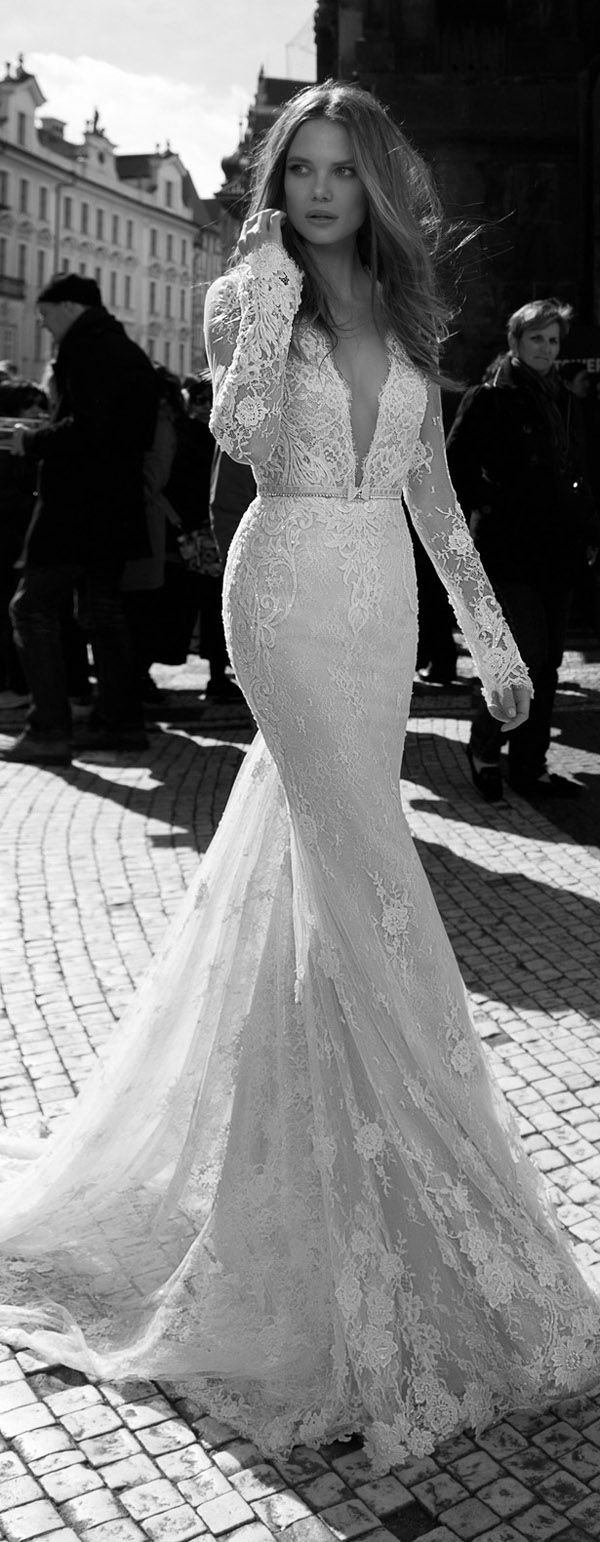 berta bridal vintage lace wedding gowns fall 2015