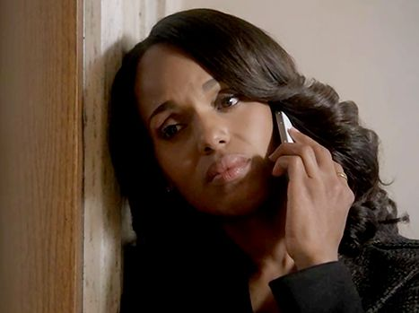 Kerry Washington in Scandal season 4 finale