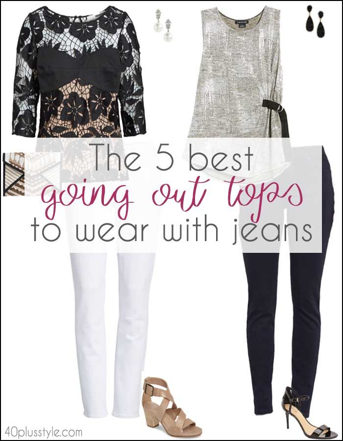 05263cd68c The 5 best going out tops to wear with jeans
