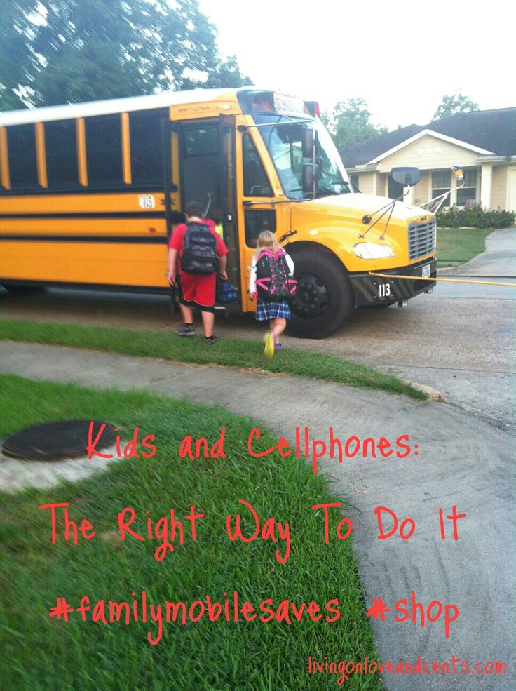 kids and cellphones  the right way to do it and the best wireless plan