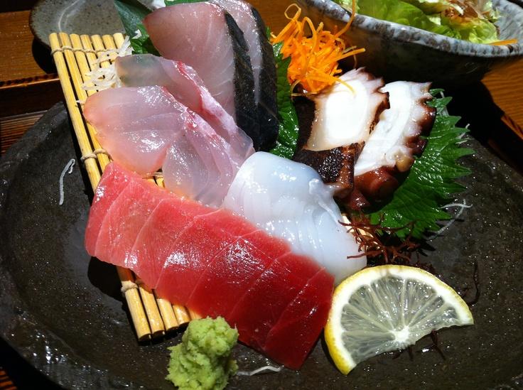さわら塩焼き&刺身5種定食