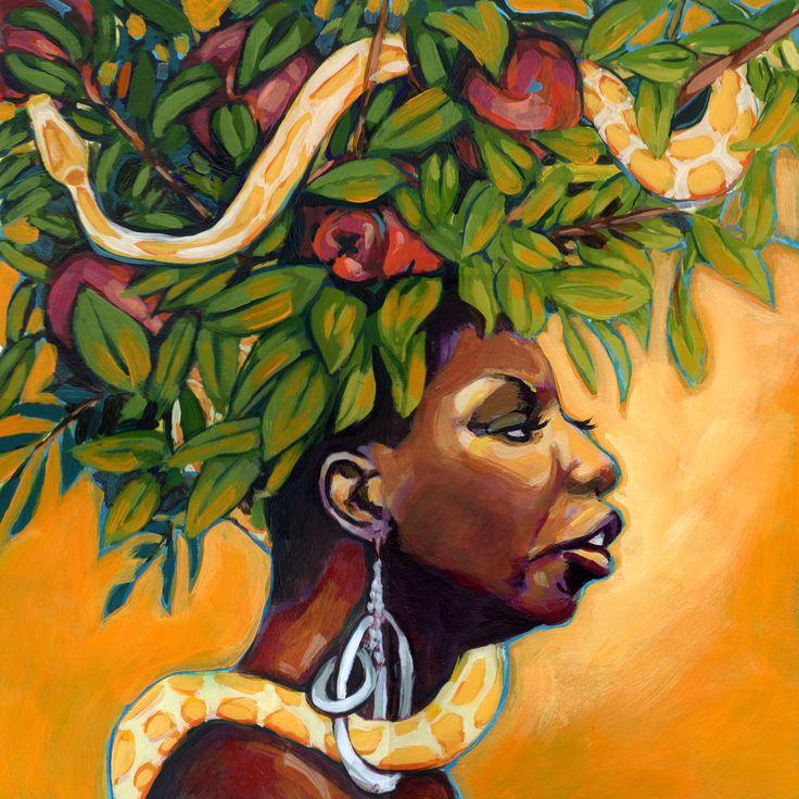 Forbidden-Fruit-Nina-Simone-Album-Cover-nina-simone-16722157-1800-1800.jpg (1800×1800)