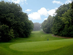 """Durand Eastman Golf Course, Rochester, NY.  Had first golf membership to """"The Parks"""".  Unique Robert Trent Jones Designed course."""