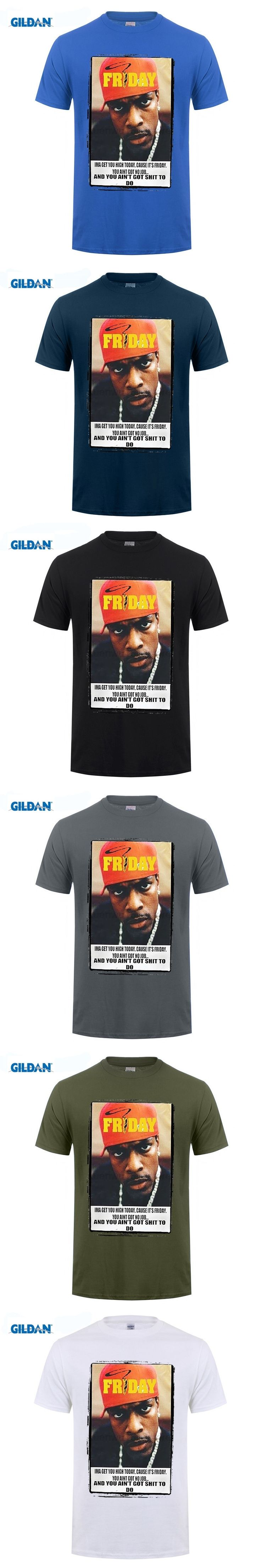GILDAN Chris Tucker T-shirt, Ice Cube, Friday, Weed, California, Movie, New, LA, NY Cool Funny T Shirt Men High Quality Tees