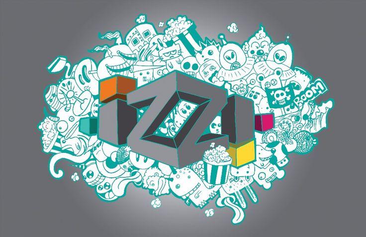 Izzi convocó a rediseñar su logo, mira los trabajos ganadores | paredro.com -Autor: Uriel Deciga deciga. Representa lo que para mi es ver IZZI, una fuente inagotable de diversion y entretenimiento, intervine el logo transformándolo a 3D con puntos de fuga y haciendo un poco de doodling en fondo representando la programación de IZZI.