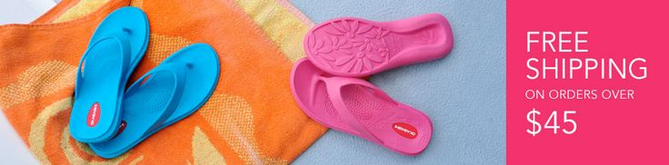Maui Flip Flop Banner...I am in love with Okabashi flip flops..I can't help it!