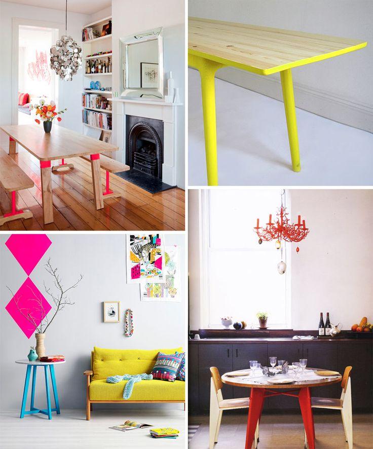 Dip-Dyed Furniture   Art Bar