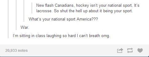 National sport
