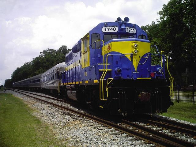 Take a ride in a 1949 vintage train car in Cordele, Georgia!