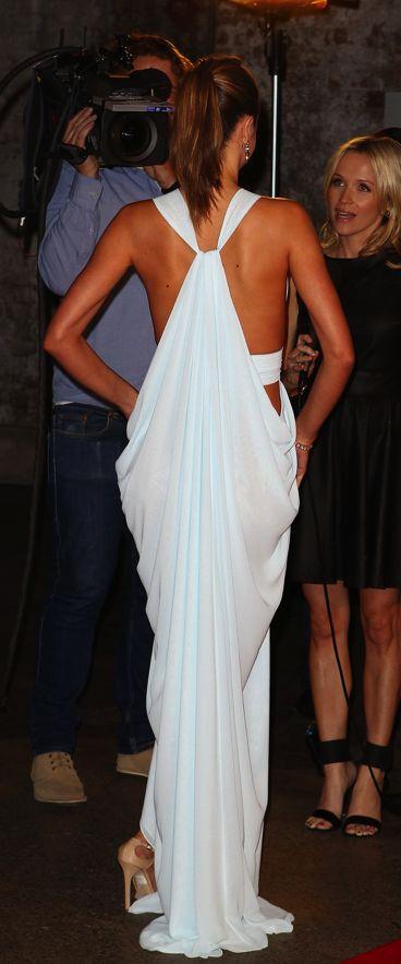 dress...HOTMirandakerr, Miranda Kerr, Wedding Dressses, Fashion, Hot Dress, Style, White, The Dresses, Back Details