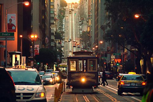 san francisco: Cable Cars, San Francisco California, Buckets Lists, Cities, Sanfrancisco, The Bays, Places, Travel, Street Photography