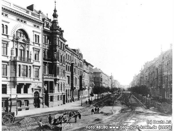 Abgang der Bismarckstraße vom Hohenzollernring, Hohenzollernring, 50672 Köln - Neustadt-Nord (1895)