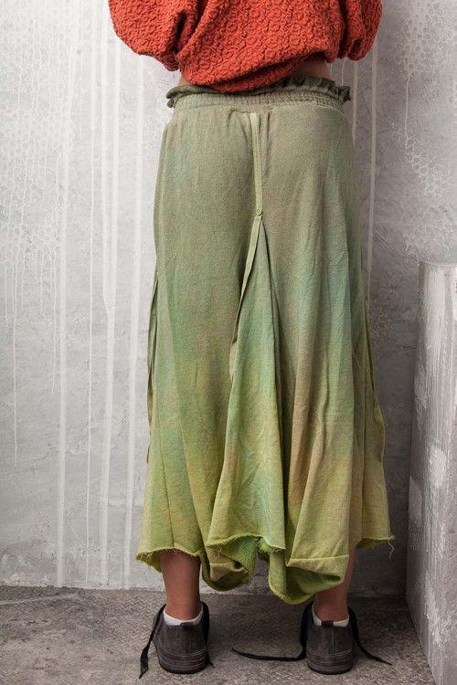 dlouhá asymetrická sukně 1041 - vel. S/M