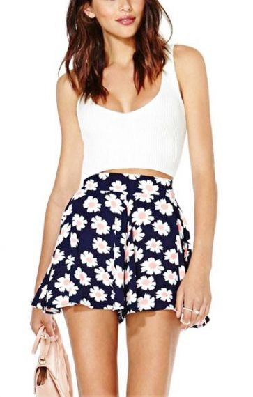 83 best High Waisted Shorts Outfits images on Pinterest