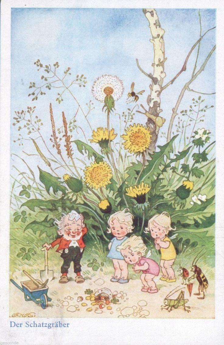 148 best images about illustraties fritz baumgarten and for Baum garten