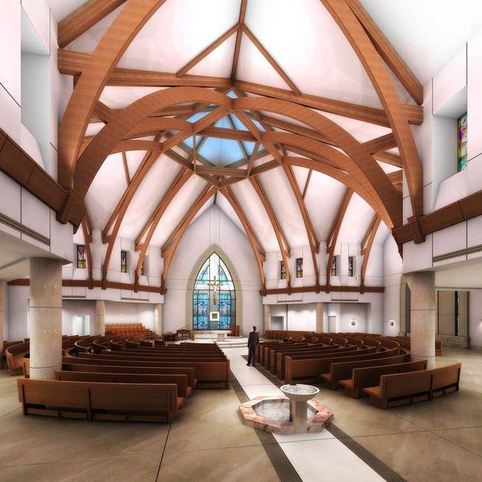 74 best church interiors 1970 present images on pinterest for St jude shreveport