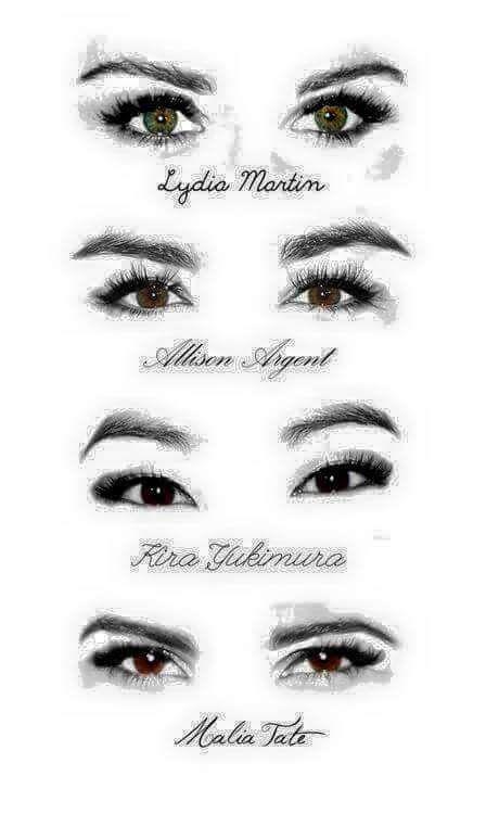 Teen wolf • Lydia • Allison • Kira • Malia