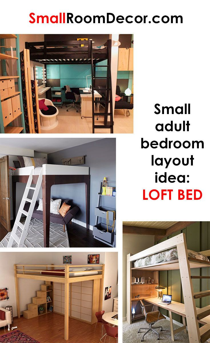16 standart and 2 extreme Small Bedroom Layout Ideas | Small ...