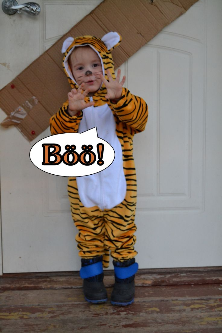 Halloween costume Tiger