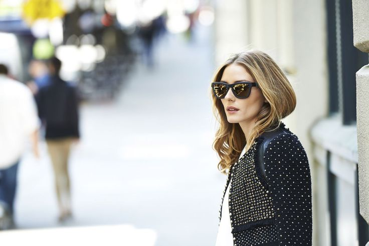 Olivia Palermo Westward Leaning Sunglasses Collaboration Gallery (Vogue.com UK)