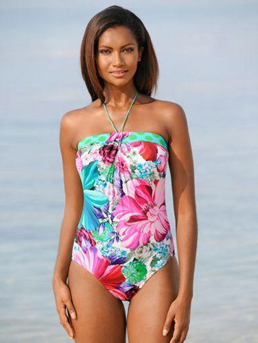 Sunflair Bandeau-Badeanzug Damen Online Pink