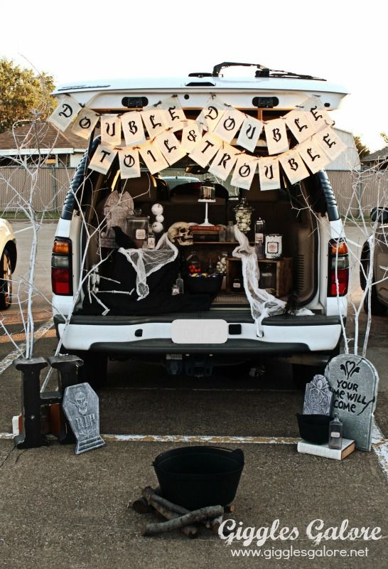 Car Trunk Halloween Decorations