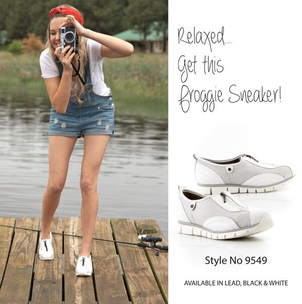 Love, love, love these stunning Froggie sneakers!