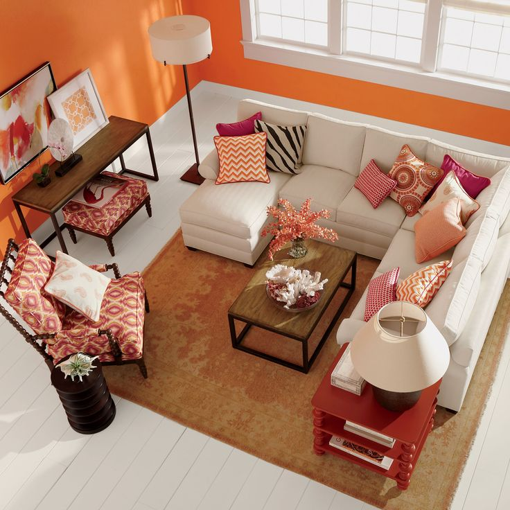 Living Room This Sectional Configuration And Size Would Work Well Current Table Will Still