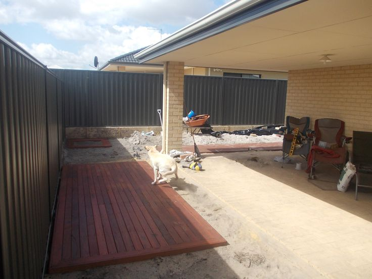 decking project