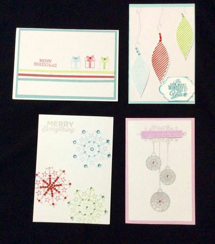 Xmas cards by triple S