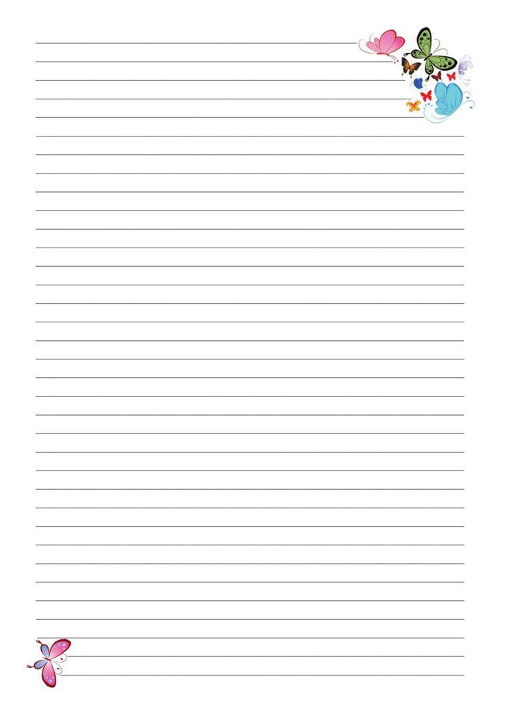 страницы для блокнота