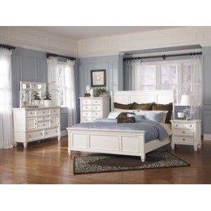 Prentice Panel Bed Ashley Furniture B672 Bedroom