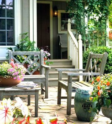 Cozy and welcoming, cottage-style homes lend thems...