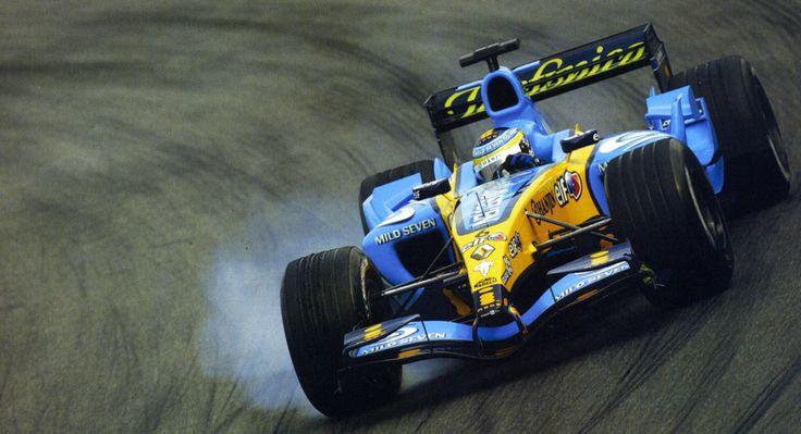 2005 Giancarlo Fisichella Renault R25