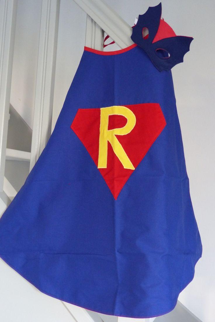 Déguisement de super héros personnalisable = masque+cape : Ecole et loisirs par choujunior