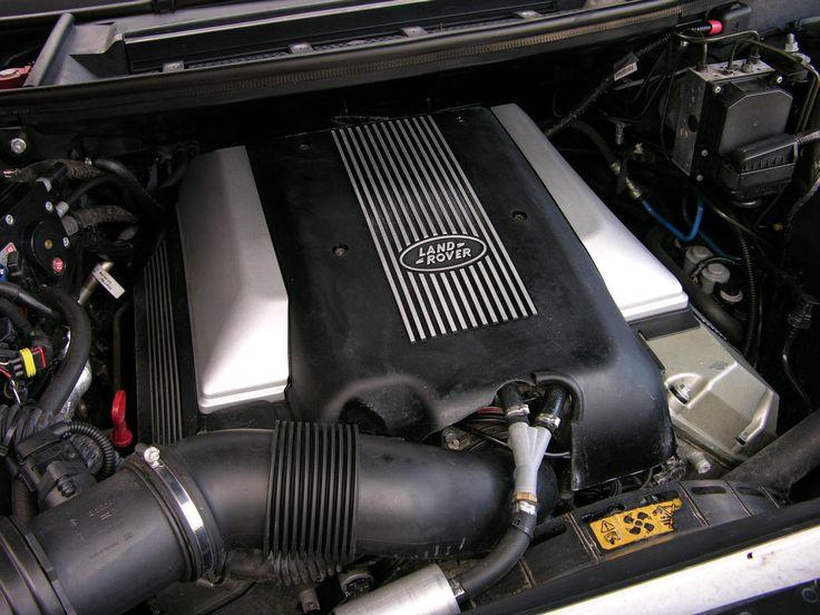 Range Rover L322 BMW M62 engine 4.4