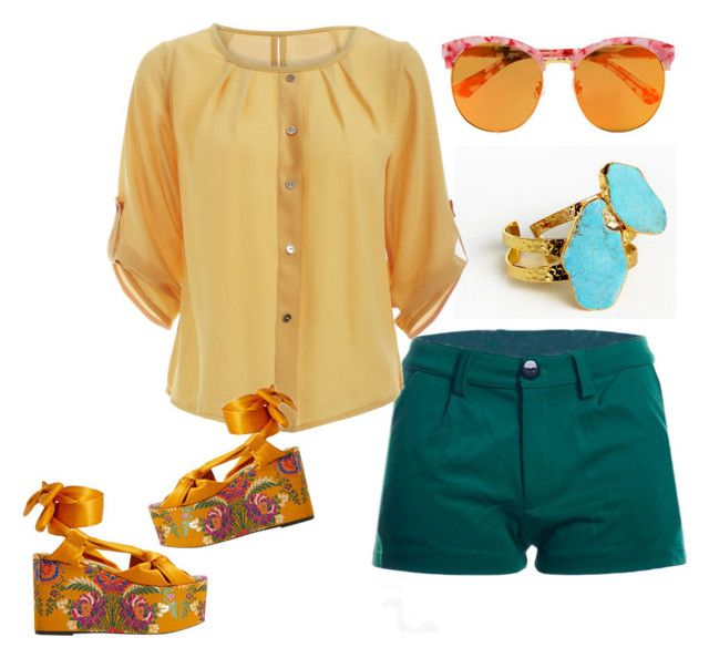 Panthenol by glirendree on Polyvore featuring moda, MANGO and Gentle Monster
