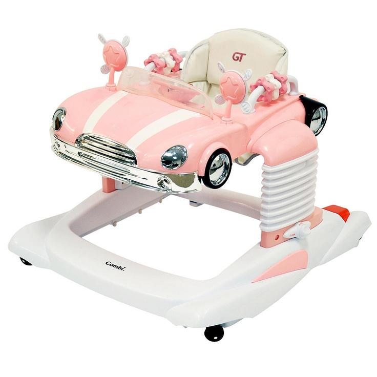 combi all in one activity walker pink combi international babies r us baby stuff. Black Bedroom Furniture Sets. Home Design Ideas