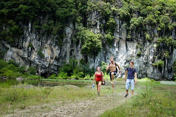 Lien Minh -  the oldest village on Cat Ba http://catbahotels.org/featured/rock-climbing-in-cat-ba.html