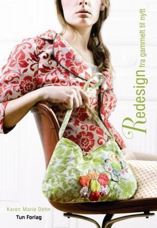Vår pris 299,-(portofritt). Boka viser hvordan du kan ta gamle klær og sy dem om til nye og moderne plagg. Den viser også hvordan du kan bruke lysmansjetter, tepper, duker og puter..