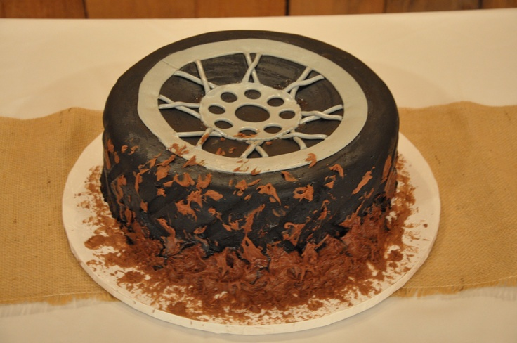 Mud Tire Cake Special Event Cakes Pinterest Party