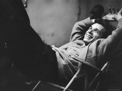 WHAT A GREAT SMILE. Young Canadian Pianist Glenn Gould Laughing at a Columbia Recording Studio, by Gordon Parks. LIFE MAGAZINE 1956