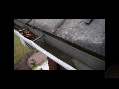 Drip Edge Installation To Prevent Water Dripping Behind A
