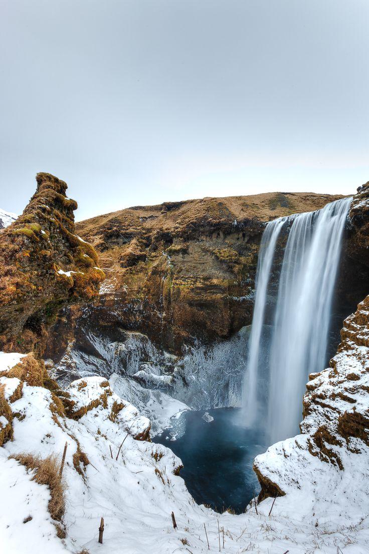 Visit Iceland, #Europe #Waterfall