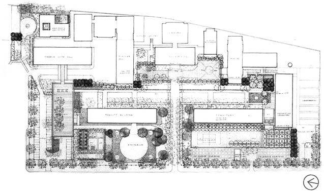 Rockefeller University Site Plan
