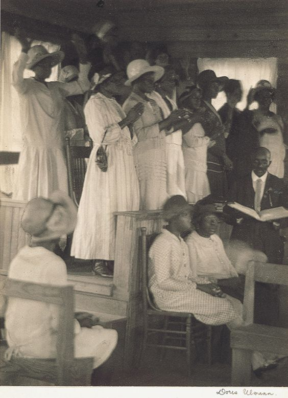 African-American church, rural South, ca. 1930s, photo by Doris Ulmann